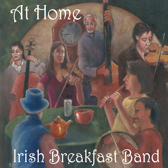 Cover of CD: At Home, painting by Brendan Sheridan